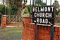 Street sign, Belfast (2) - geograph.org.uk - 1605349.jpg