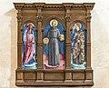 Sts Jerome, Bernardino of Siena, and Louis of Toulouse - Antonio Vivarini.jpg