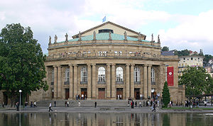 Staatsoper Stuttgart - The Opera House of Stuttgart State Theatre