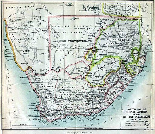 Suedafrika 1885