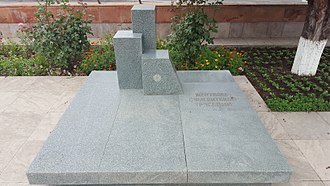Sumgait pogrom - A memorial dedicated to the victims of the pogrom in Stepanakert, Nagorno-Karabakh