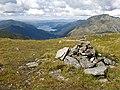 Summit cairn, Sgurr Beag, looking NW - geograph.org.uk - 979743.jpg