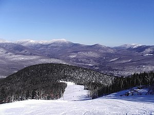 Frozen Rush - Ski slopes at Sunday River