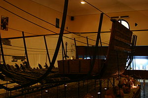 Sunk ship at Bodrum's Castle Museum (2).JPG