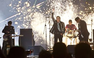 Super Bowl XLIV - The Who performing during the halftime show