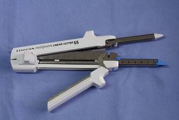 Surgical stapler & cutter linear