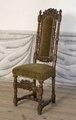 Svarvad stol, 1600-talets sista hälft - Skoklosters slott - 103846.tif