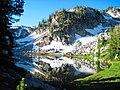 Swamp Lake in the Eagle Cap Wilderness, Wallowa-Whitman National Forest (26195910504).jpg