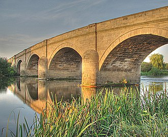 River Trent - Swarkestone Bridge