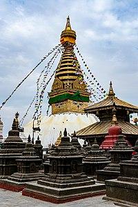 Swoyambhunath stupa, Swoyambhu, Kathmandu.jpg