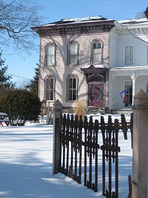 Sycamore, Illinois - David DeGraff House (1867) in the Sycamore Historic District