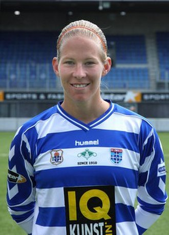 Eredivisie (women) - Sylvia Smit, two time top-scorer