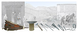 Blacksmith - Smithing process in Mediterranean environment, Valencian Museum of Ethnology