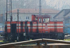 TCDD DH7000 - DH7007 at Sirkeci yard, Istanbul.