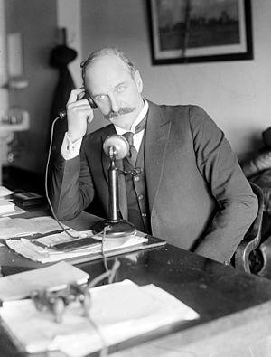 T. Coleman du Pont - Coleman du Pont in his Senate office