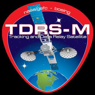 TDRS-M - Image: TDRS M Project fairing logo