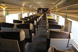 SNCF TGV Réseau - Image: TGV Lacroix first class interior