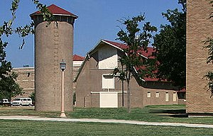 Barn - The Texas Technological College Dairy Barn in Lubbock, Texas, U.S., was used as a teaching facility until 1967.