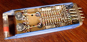 TX-2 - Circuit module from the TX-2.