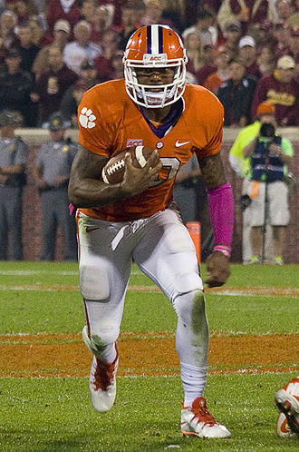 Clemson Tigers football statistical leaders - Quarterback Tajh Boyd holds Clemson's career passing and total offense records.