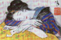 TakehisaYumeji-LateTaishō-Dreaming Woman.png