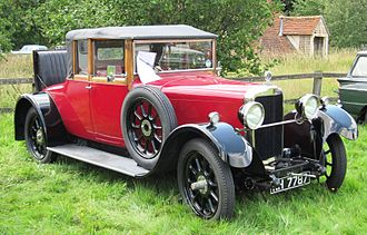 Talbot 14-45 - 14-45 drophead coupé with dicky by (unknown) registered May 1927