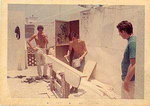 Surfing in Peru - First surfboard Factory in Peru 1969, Aldo Fosca, Guillermo Letts, Wayo Whilar