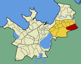 Väo Subdistrict of Tallinn in Harju County, Estonia