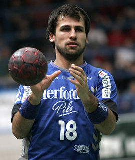 Tamás Mocsai Hungarian handball player