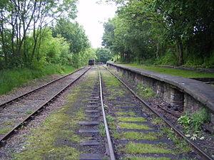 Tanfield Railway - Sunniside station