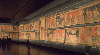 The Apocalypse Tapestry in the Chateau d'Angers, in Angers, France Tapisserie de l'apocalypse.jpg