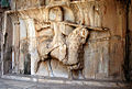 Taq-e Bostan - equestrian statue.jpg