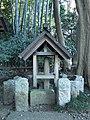 Tateiwa (立石大神), A Phallic Menhir in Kitami Hikawa Shrine (喜多見氷川神社) - panoramio.jpg