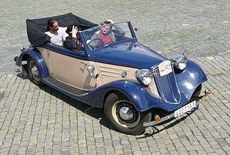 Tatra 75 - Tatra 75 convertible