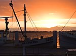 Tauranga Harbor Sunrise (6870869874).jpg
