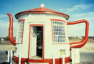 Teapot Dome Service Station - The Teapot Dome Service Station in Washington state is an example of novelty architecture and of a roadside attraction.
