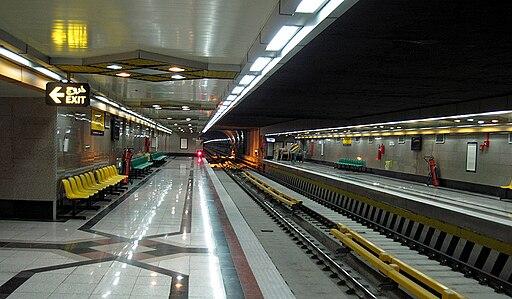 Tehran-subway-station