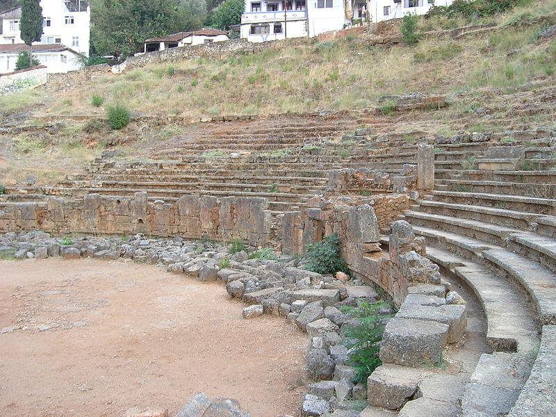 Telmessos ancient theatre, Fethiye