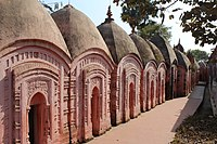 Temple complex of Malleswara at Mallarpur in Birbhum district 03.jpg
