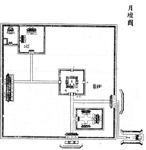Temple of Moon map(Qing dynasty).jpg