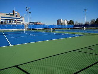 Centennial Sportsplex - Tennis courts at Centennial Sportsplex