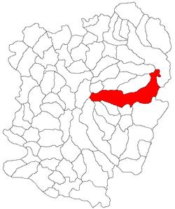 Vị trí của Teregova