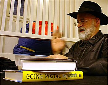 Terry Pratchett, Park Branch Library, San Fran...
