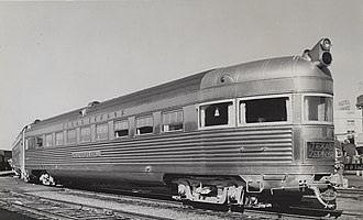 1960 in the United States - The Texas Zephyr in Dallas, December 26, 1960