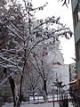 TgMures - Tudor - the snowy Orthodox church near Fortuna - panoramio.jpg