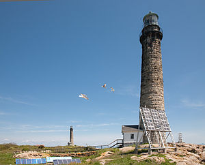 Cape Ann Light Station - Thacher Island Lighthouses in 2009