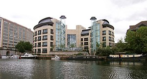 English: Thames Water HQ By The Thames In Read...