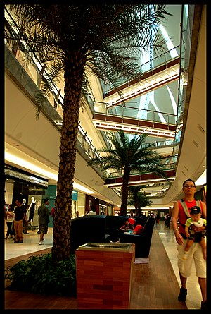 Mid Valley City - Image: The Gardens Walkway