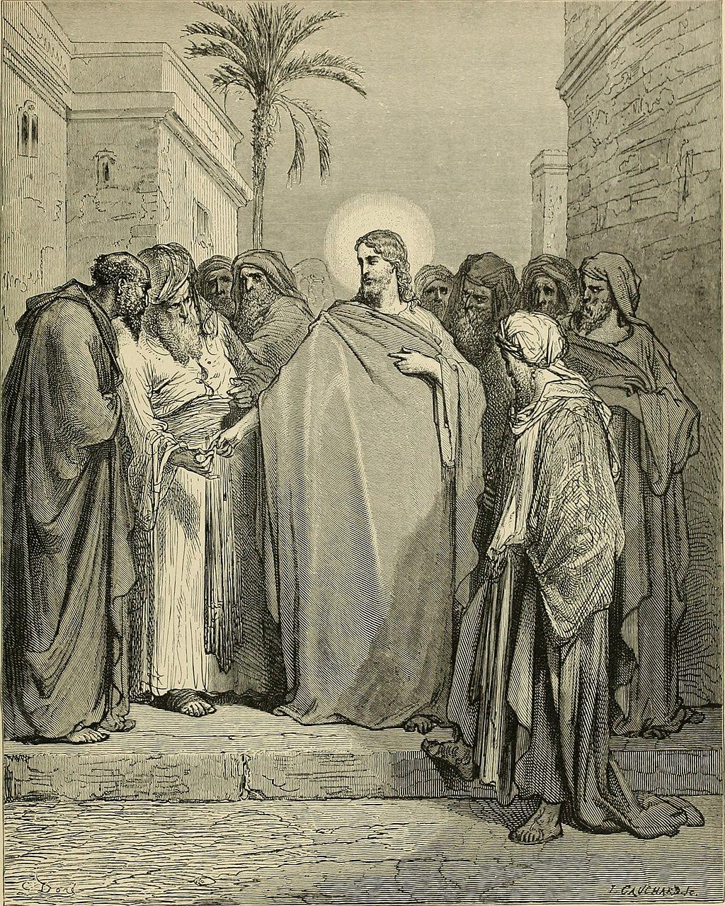 그리스도와 세금 (귀스타브 도레, Gustave Dore, 1866년)