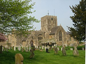 Buckland, Oxfordshire - Image: The Church of St Mary the Virgin, Buckland (3445157967)